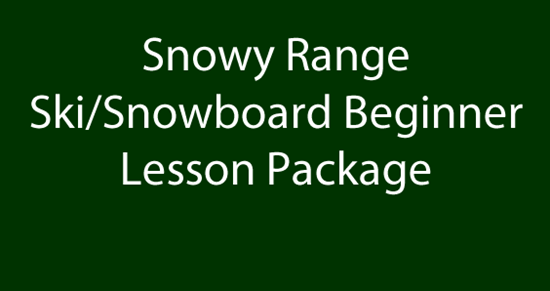Picture of Snowy Range Ski/Snowboard Beginner Lesson Package