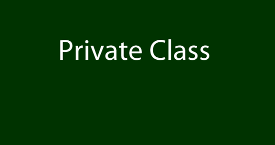Picture of Private Class