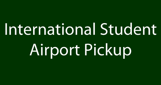 Picture of International Student Airport Pickup