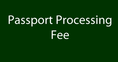 Picture of Passport Processing Fee