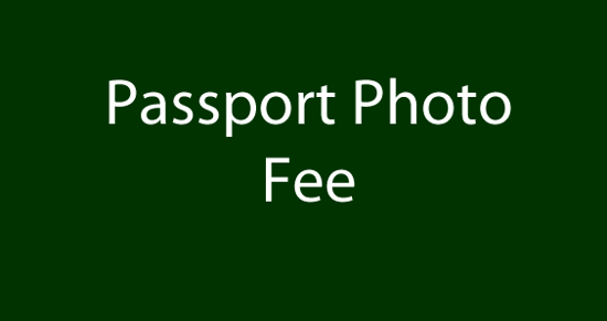 Picture of Passport Photo Fee