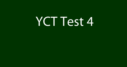 Picture of YCT 4 Test