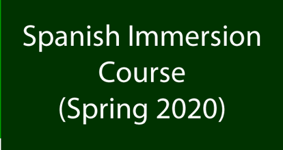 Picture of Spanish Immersion Course (Spring 2020)
